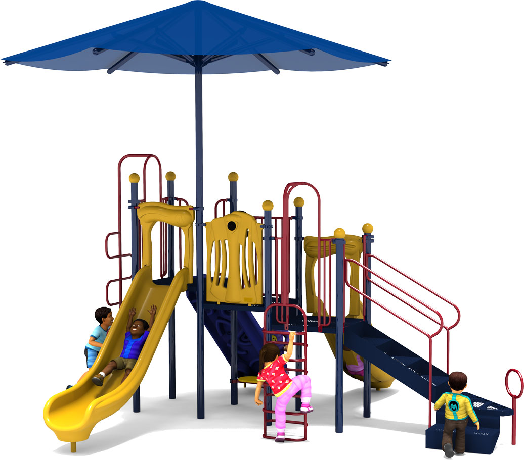 Captain Cool - Commercial Playground Equipment - Primary - Back