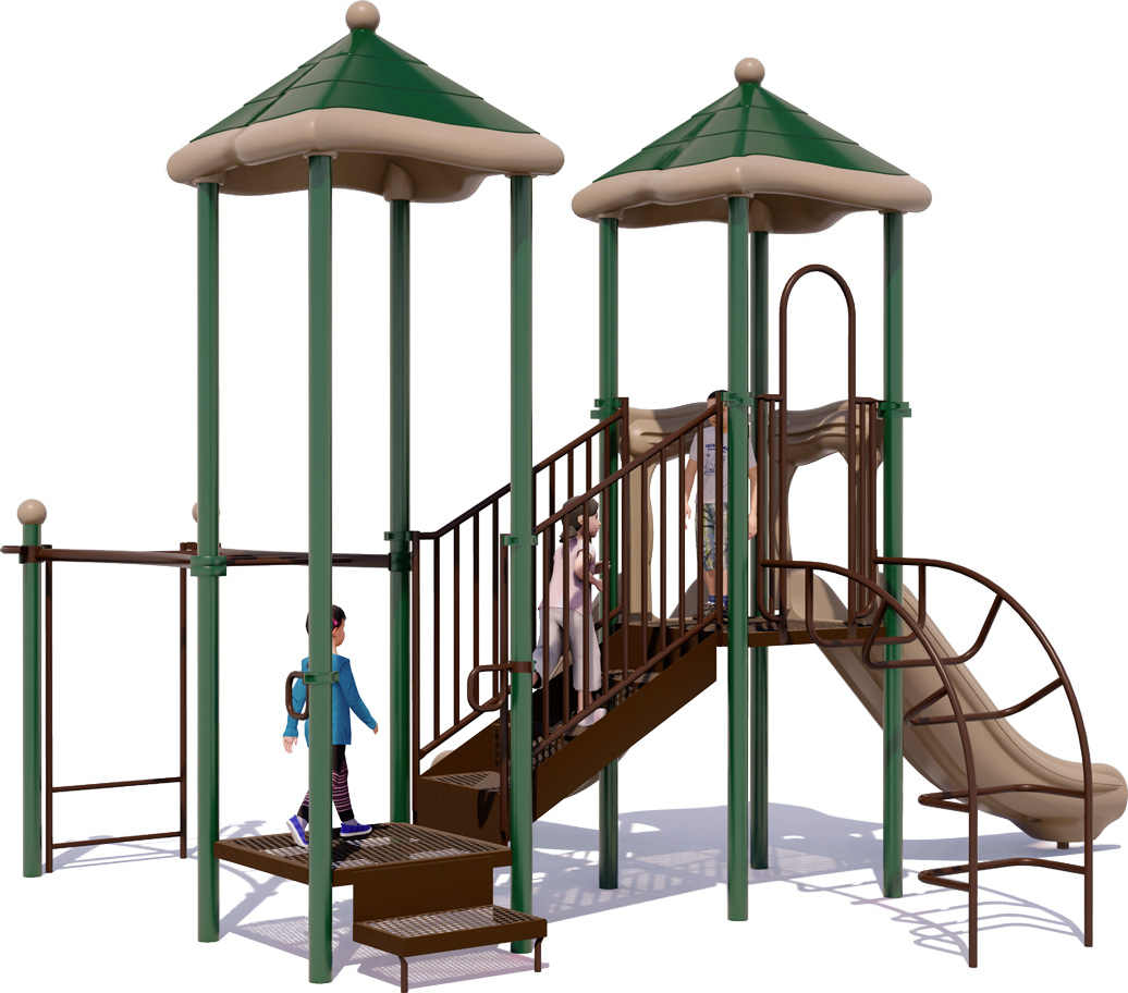 Double Delight - Commercial Play Structure