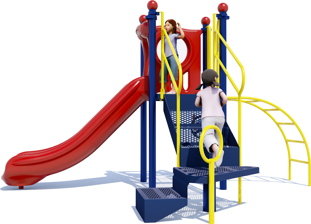 Space Saver Commercial Play Structure