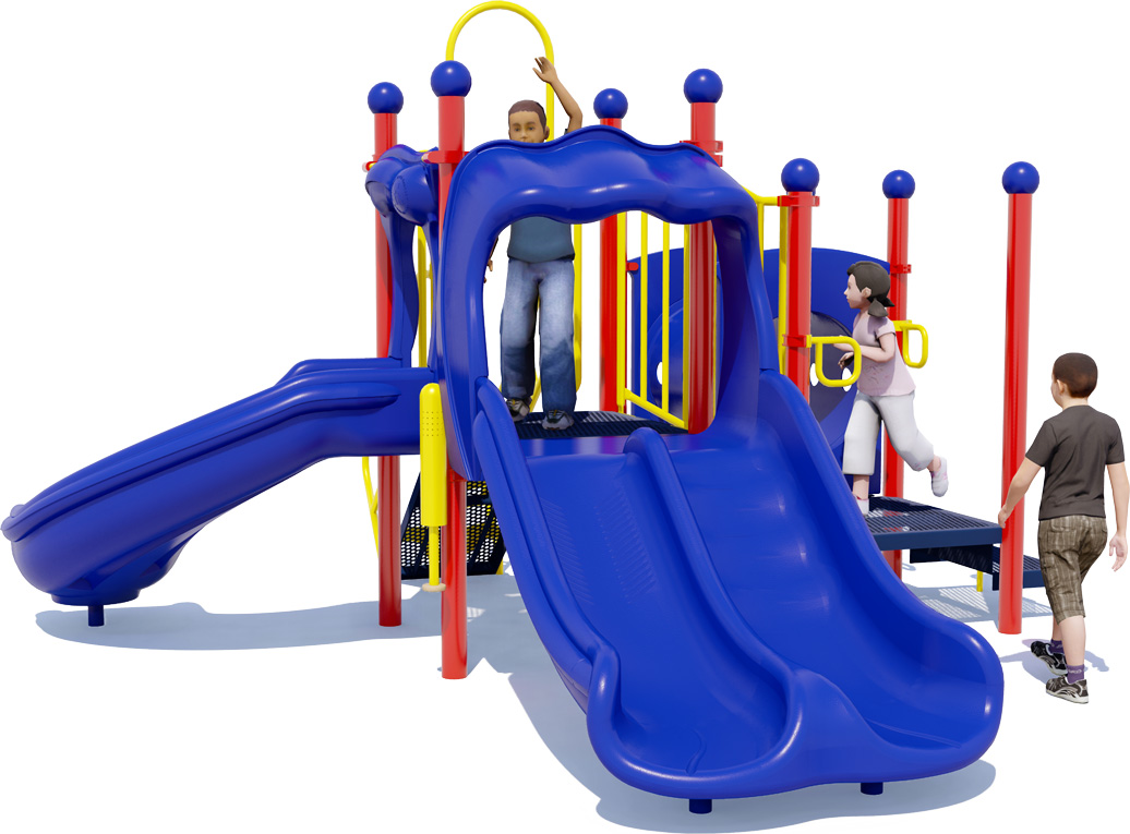 Deuces Wild - Commercial Play Structure