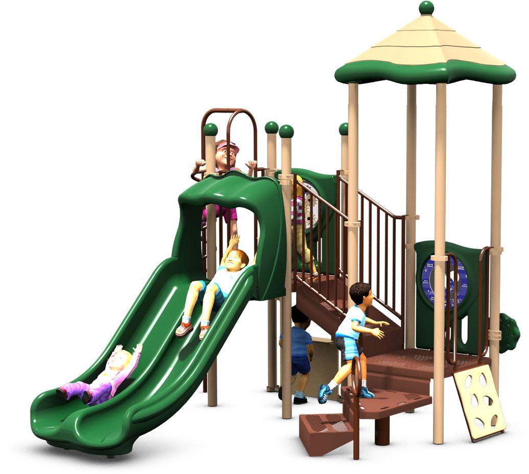 Kids Korner - Natural Color Scheme - Back View