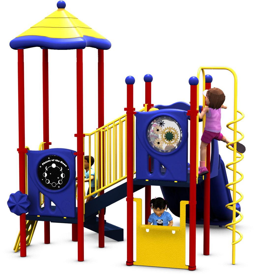 Kids Korner - Primary Color Scheme - Front View
