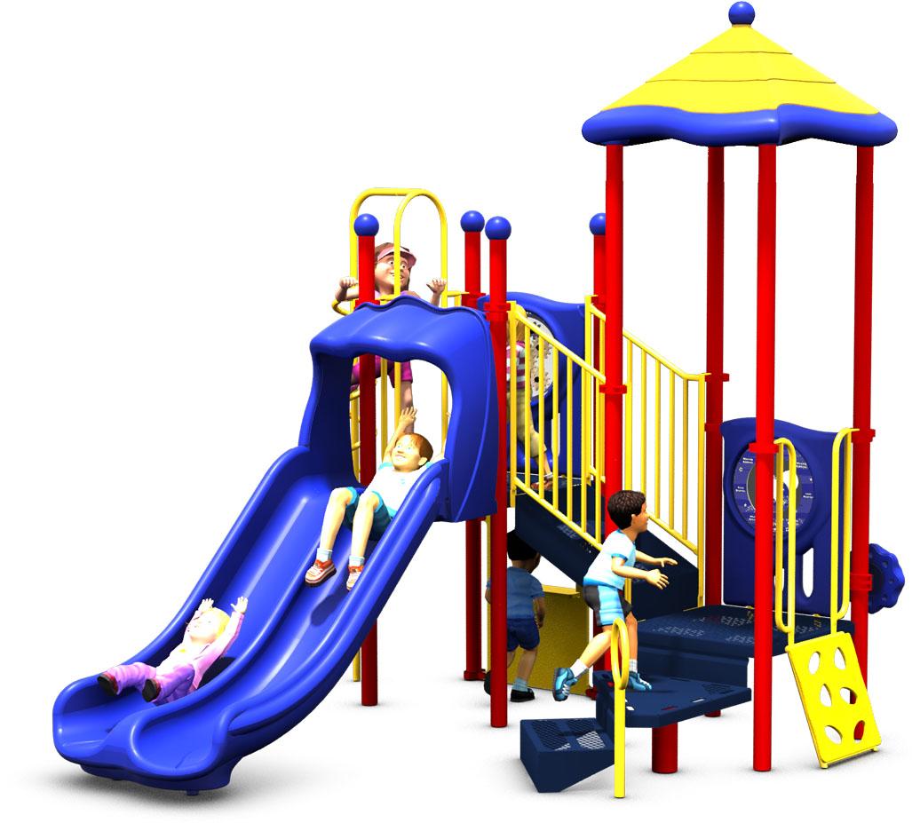 Kids Korner - Primary Color Scheme - Back View