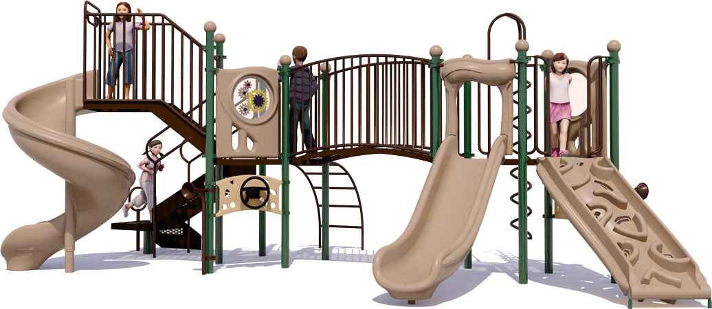 Crossover Bridge - Commercial Play Structure - American Parks Company