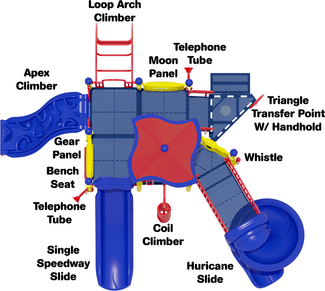 Crank It Up - Commercial Playground Equipment