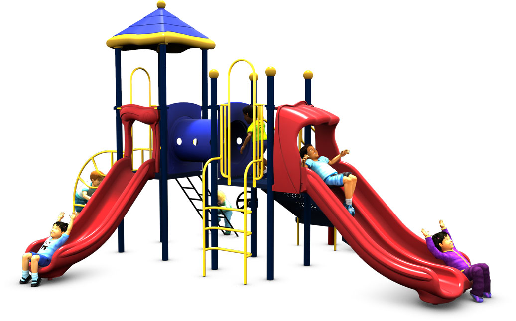 Super Train - Commercial Playground Equipment - Front - Primary