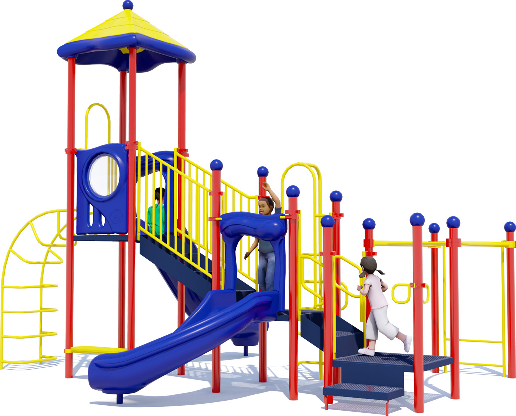 Happy Days Commercial Play Structure