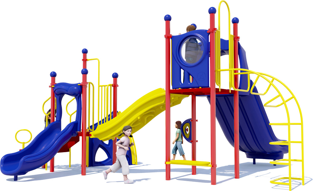 Space Bridge - Commercial Play Structure