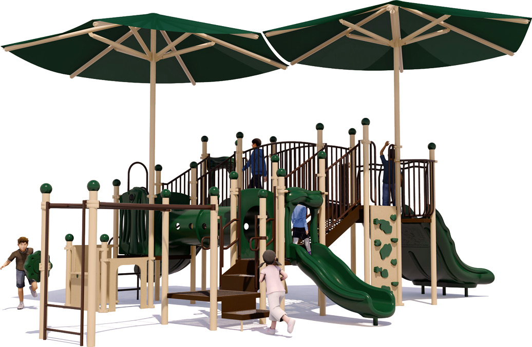 Magic Kingdom - Commercial Playground Equipment - Natural - Front