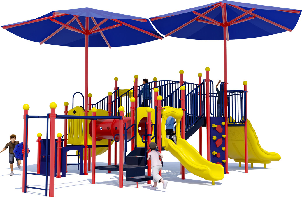 Magic Kingdom - Commercial Playground Equipment - Primary - Back