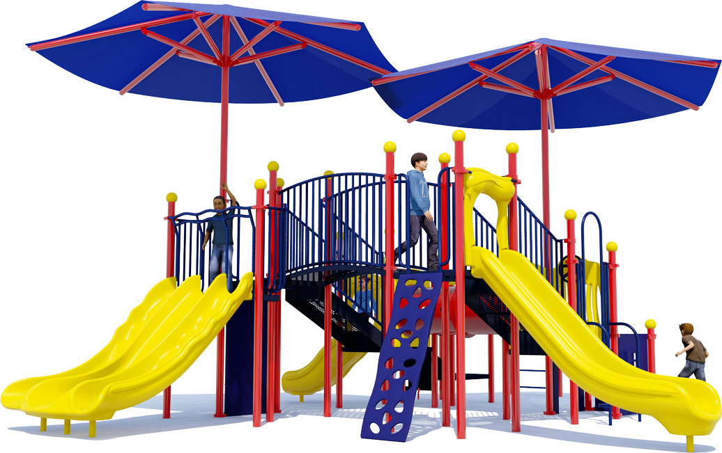 Magic Kingdom - Commercial Playground Equipment - Primary - Front