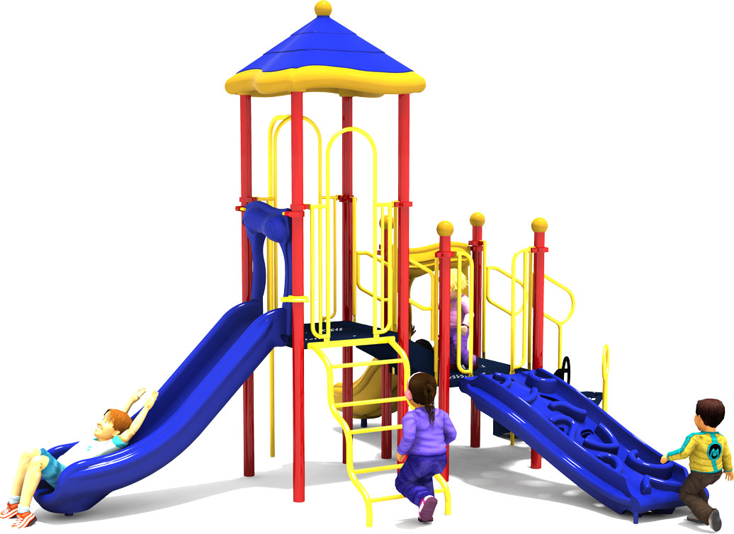 Commercial Playground Equipment - Apple a Day - Primary - Front