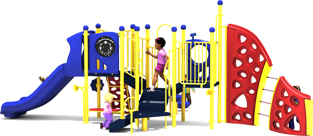 Mind Over Matter - Primary - Back View - Commercial Playground Equipment
