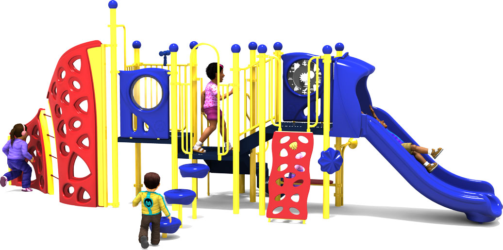 Mind Over Matter - Primary - Front View - Commercial Playground Equipment