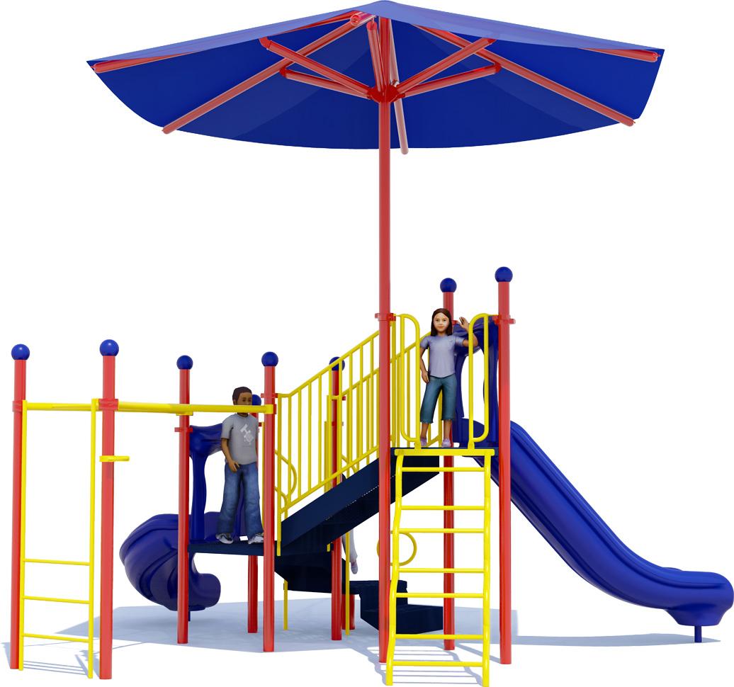 Under My Umbrella Play Structure