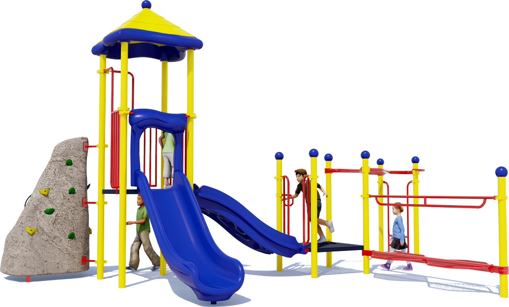 Rock Ridge - Commercial Play Structure