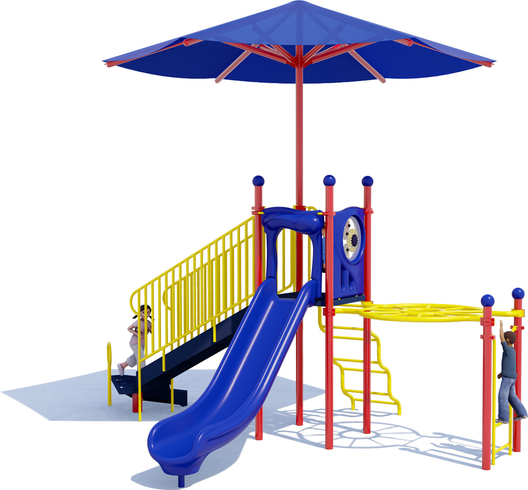 Sunny Days Commercial Play Structure - American Parks Company