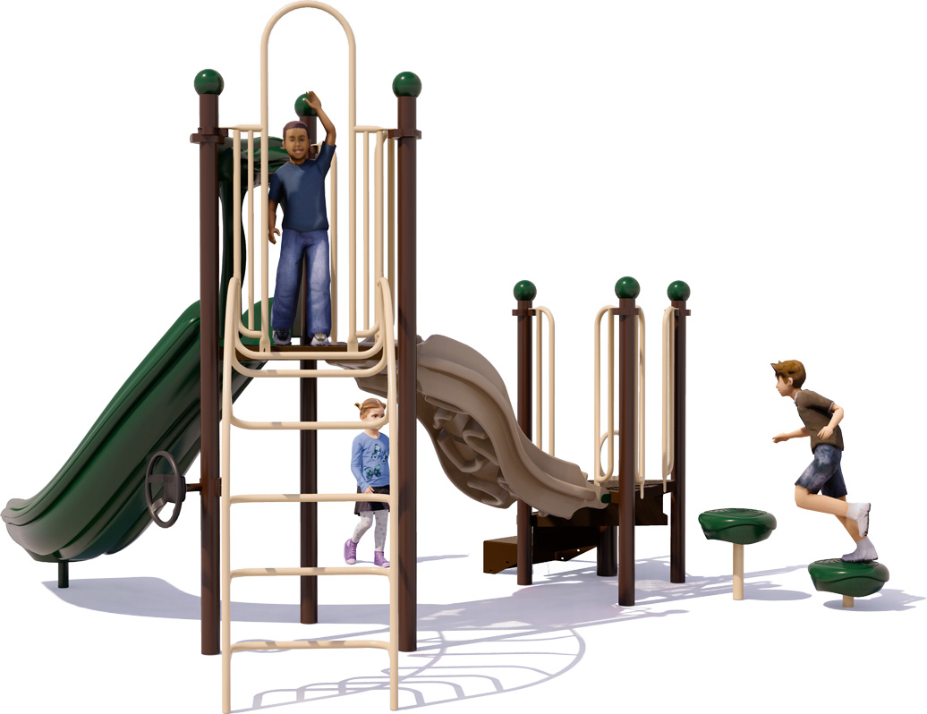Adventure Awaits - Commercial Playground Structure