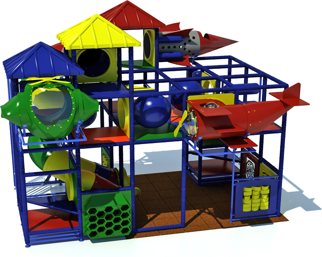 adventure 800 - indoor play equipment - primary - front