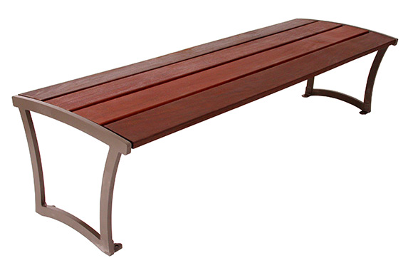 Madison Bench w/Ipe Wood Finish