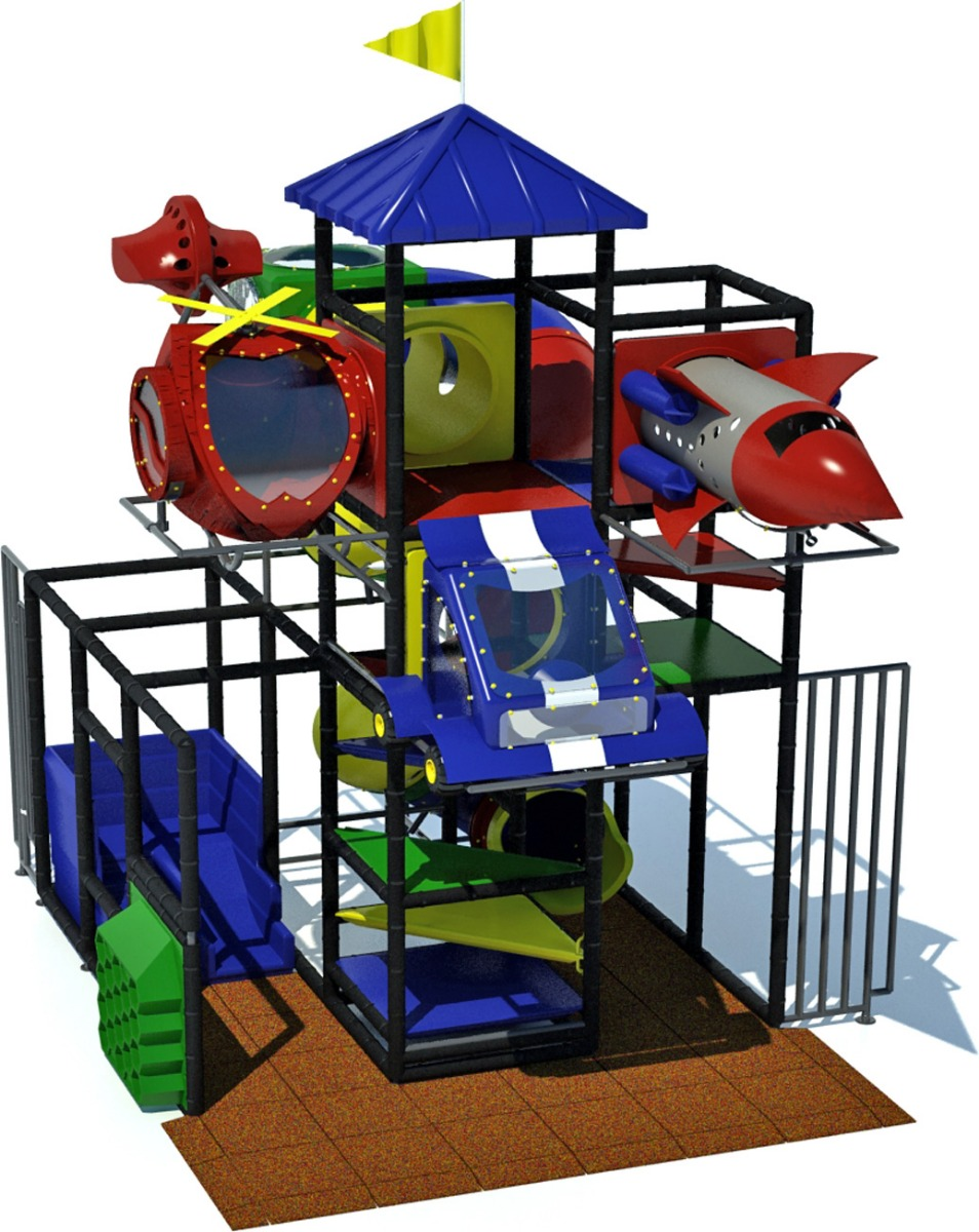adventure 700 - indoor play equipment - front - primary