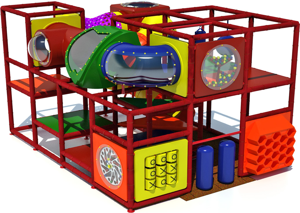 Junior 400 - Indoor Playground - American Parks Company - primary - front