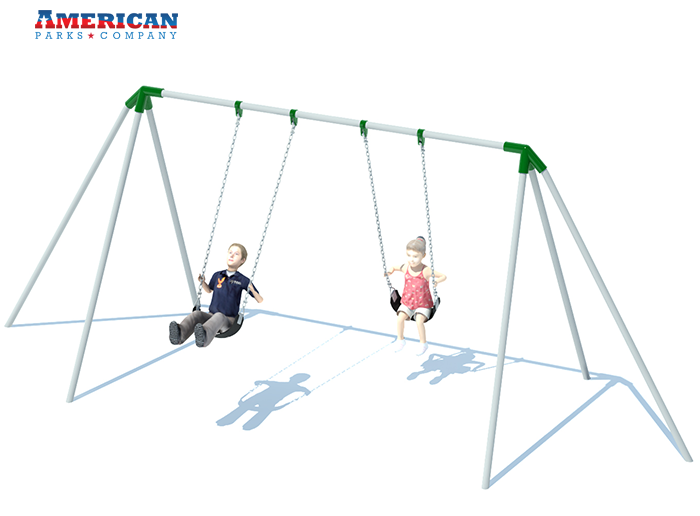 Tripod Swing Set | Playground Equipment | American Parks Company