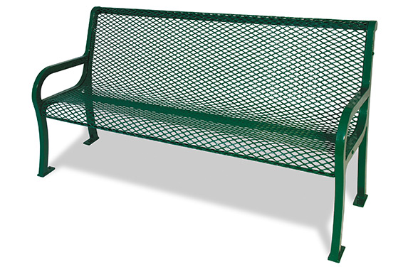 Expanded Lexington Bench w/Back