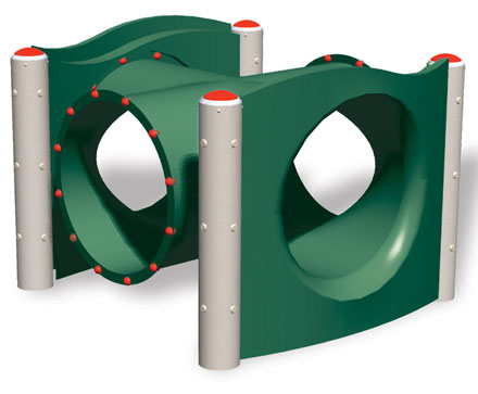Big Tube Intersection - Climbers - Commercial Playground Equipment