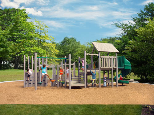 Legend - Recycled Playground Equipment - American Parks Company