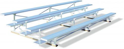 """12"""" Plank Low Rise Sports Bleacher"""