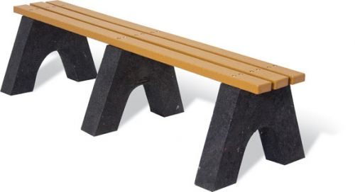 Standard Recycled Bench without Back