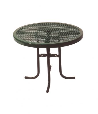 Round Food Court Table