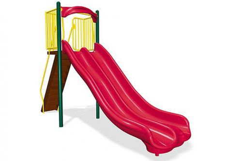 6' Double Velocity Freestanding Slide - Independent Play Products - American Parks Company