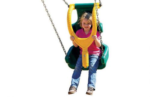 Commercial Playground Equipment - Made-for-Me Swing Seat for special needs children ages 5-12 - American Parks Company