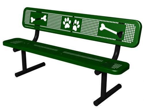 Sit & Stay Bench - Dog Park Equipment - American Parks Company