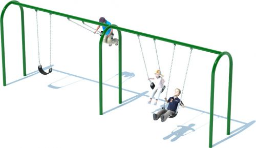 "Arch 3.5"" Swing Set Frame 