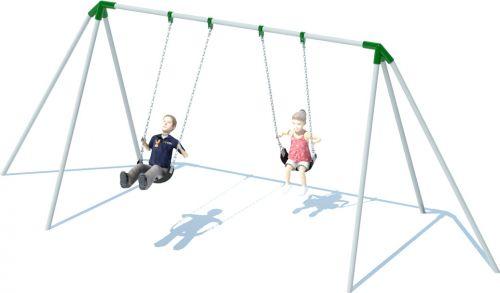Tripod Swing Set | Playground Equipment | American Parks Company