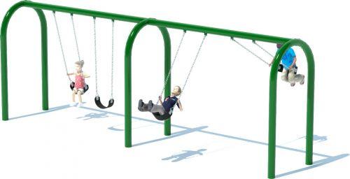 2 Bay Arch Swing Set | Swings | American Parks Company