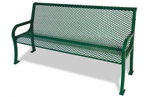 Expanded Lexington Bench w/Back
