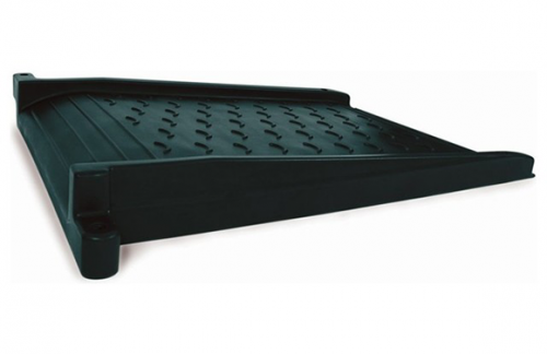 Black Plastic ADA Ramp Border Timber Attachment - Commercial Playground Equipment - American Parks Company