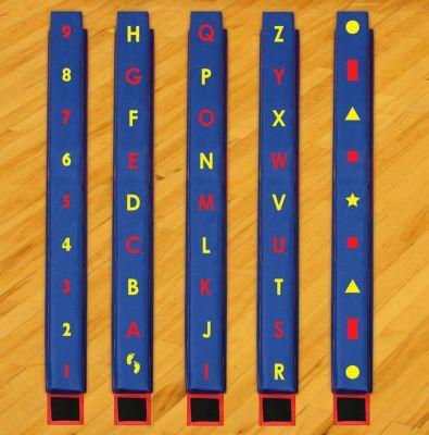 WeeKidz Balance Beams - Complete Set of 5