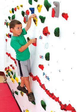 Discovery Dry Erase Climbing Wal
