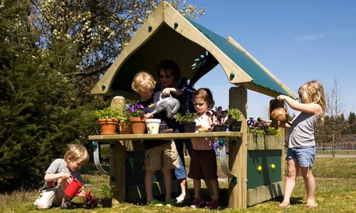 Green Thumb Potting Shed - Outdoor Learning - Commercial Playground Equipment