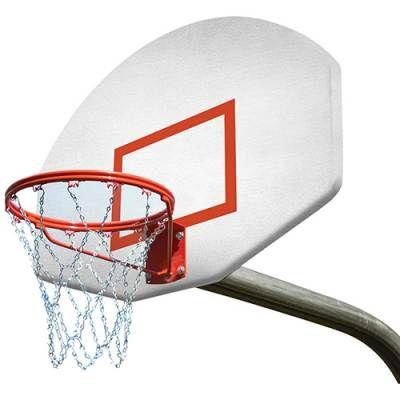 Basketball Goal System with Breakaway Rim
