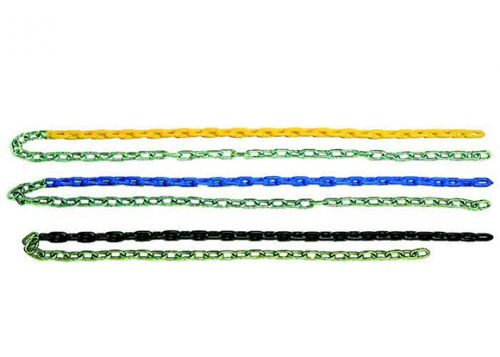 Half Plastisol Coated Chain