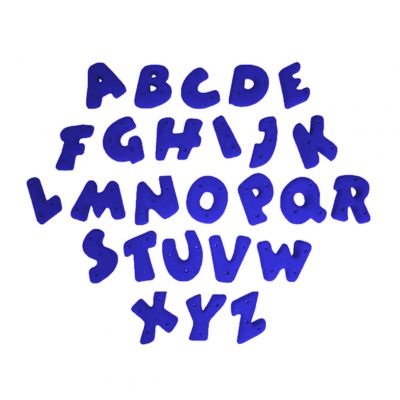 Alphabet Bolt-on Hand Holds
