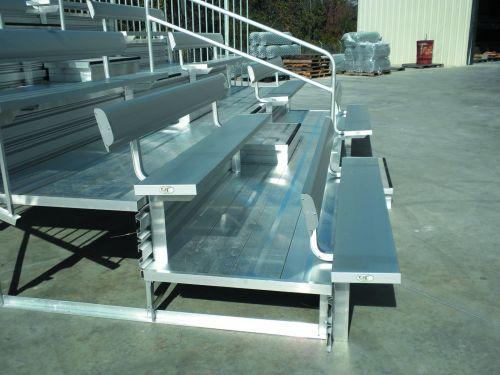 Luxury Bleacher Series w/Picket Guardrail