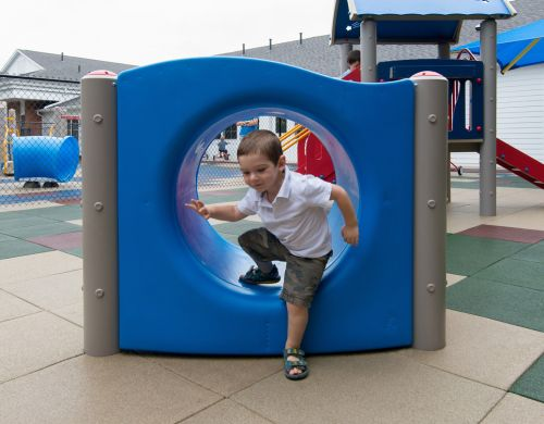 Crawl Through Tunnel - Climbers - Commercial Playground Equipment