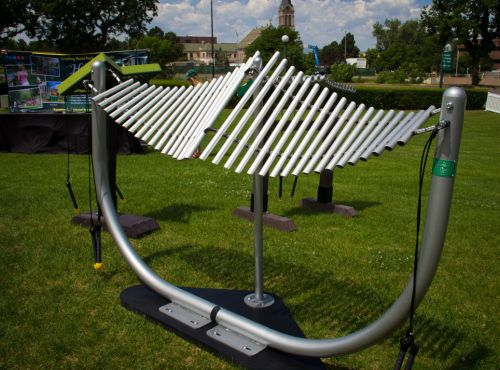 Manta Ray Chimes - Outdoor Musical Instruments - American Parks Company